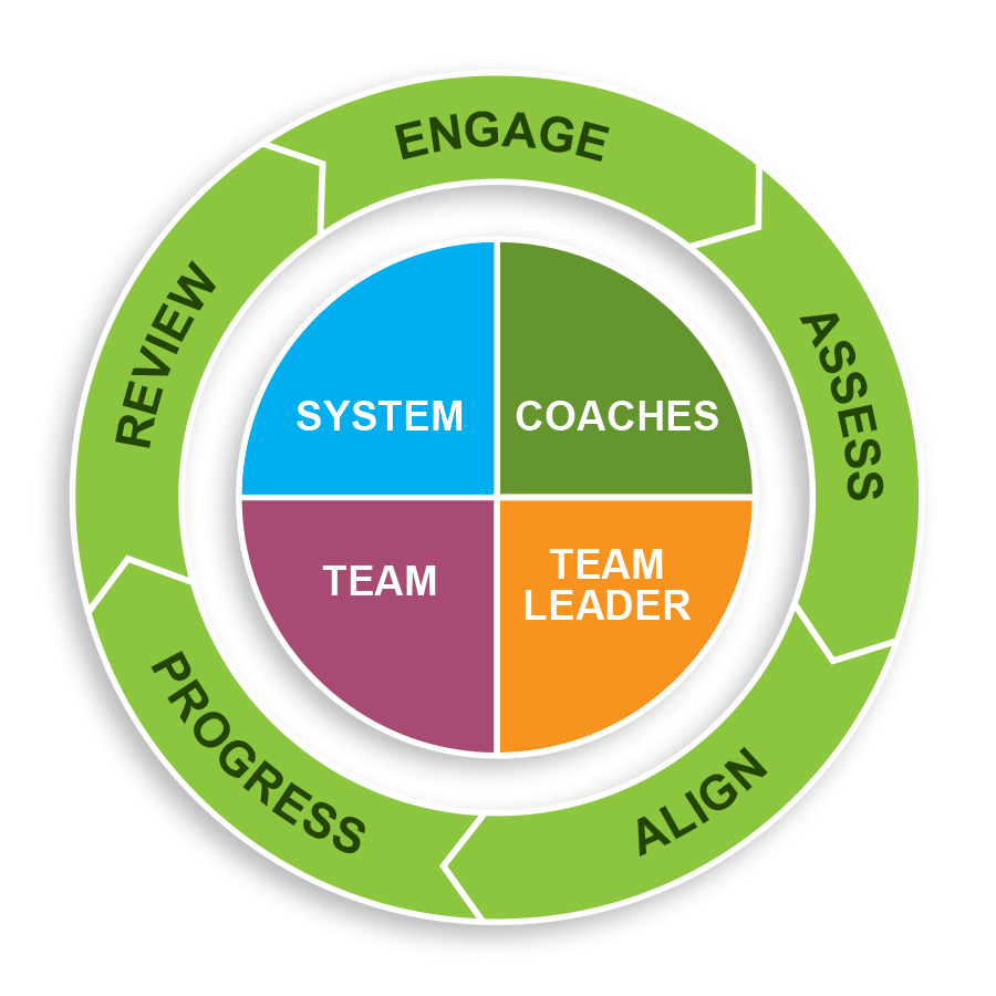 5 Phase Framework for team coaching